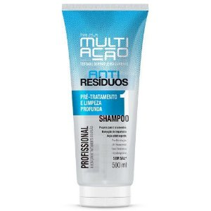 Shampoo Helcla Multiação 400ml anti residuos
