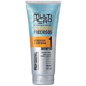 Shampoo Helcla Multiação 400ml oleos preciosos