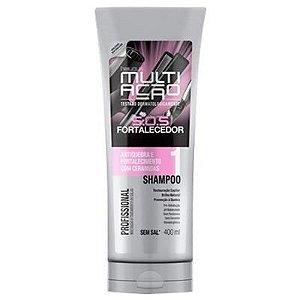 Shampoo Helcla Multiação S.O.S Fortalecedor 400ml