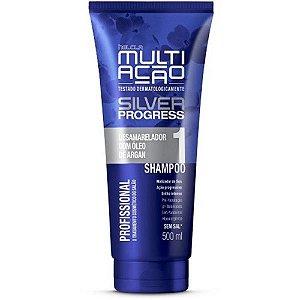 Shampoo Helcla Multiação Silver Progress 400ml
