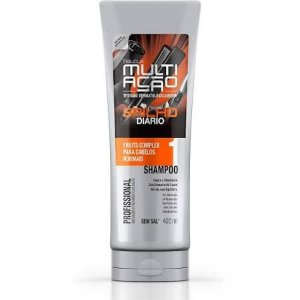 Shampoo Helcla Multiação 400ml brilho diario