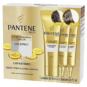 Pantene Kit Liso Effect 1un 30ml e 2 un 15ml