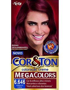 Tintura Cor&Ton 6.646 VERMELHO CEREJA 50GR