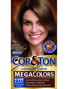 Tintura Cor&Ton 7.777 LOURO MARROM 50GR