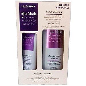 Alta Moda Kit Sh + Cond Desamarelador