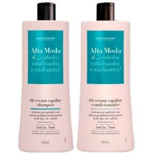 Alta Moda Kit Sh + Cond BB Cream Capilar