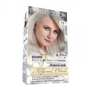 Tintura Beauty Color 11.11 Louro Ultra Clarís. Esp. Plat
