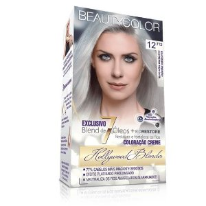 Tintura Beauty Color kit 12.112 Louro Ultra Clarissimo