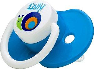 Chupeta Lolly Zoo Bona Ortodontica Tam.1 Azul Ref.4814-01