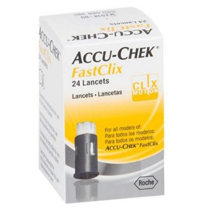 Lancetas Fastclix c/ 24 Unidades