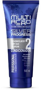 Condicionador Helcla Multiação Silver Progress Desam 400ml