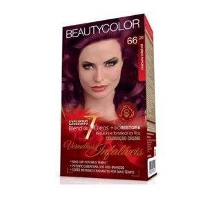 Tintura Beauty Color Kit 66.26 Marsala Infalivel