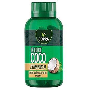 OLEO DE COCO EXTRA VIRGEM 1000mg 60cps - Copra
