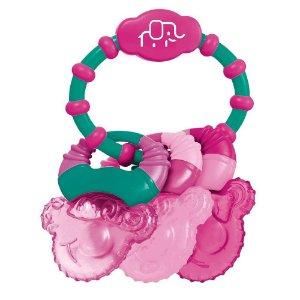 Mordedor Cool Rings Resfriável Rosa BB1657 - Multikids