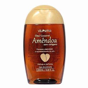 Oleo de Amendoa Corporal com Colageno Vita Seiva 130ml