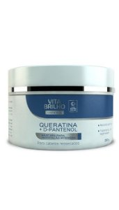 Máscara Vita Brilho Queratina+D-Pantenol Intensiva 250gr
