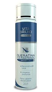 Shampoo Vita Brilho Queratina + D-Pantenol 300ml