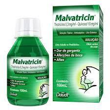 MALVATRICIN SOLUÇAO 100ML
