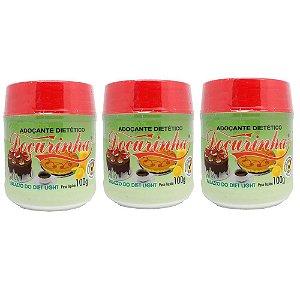 Adoçante Dietético Doçurinha 100gr - kit com 3 unidades
