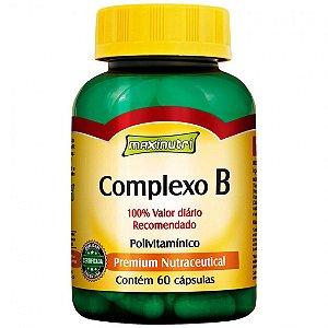 Complexo B 250MG 60 Cps - MAXINUTRI