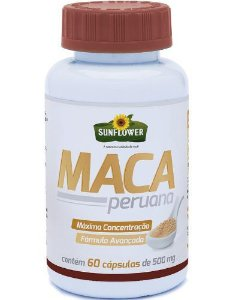 Maca Peruana Sunflower 60 Caps 500mg