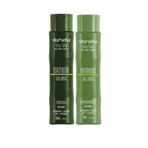 Kit Vita Seiva Shampoo e Condicionador Bamboo Arginina