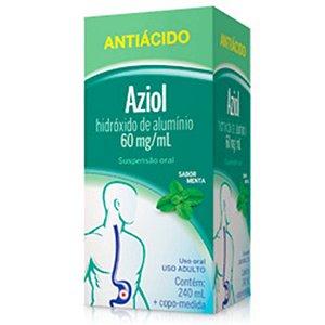 Hidroxido de Aluminio Aziol Sabor Menta susp Oral 240ml