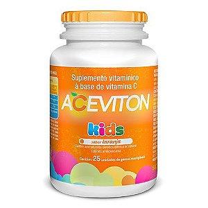 Vitamina C - Aceviton Kids 30mg 25 Goma Mastigável Laranja