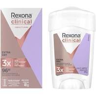 Desodorante Rexona Clinical Women Extra Dry 48g