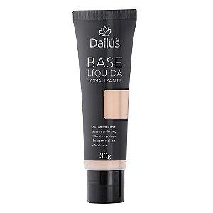 Dailus Base Líquida Bisnaga 02 Clara 30g