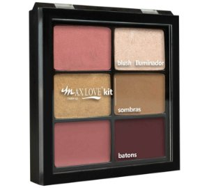 Max Love Kit Paleta Blush + Sombra + Batom 052