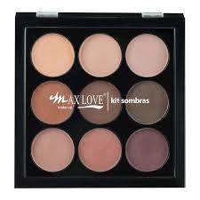 MaxLove Kit Paleta de Sombras 02