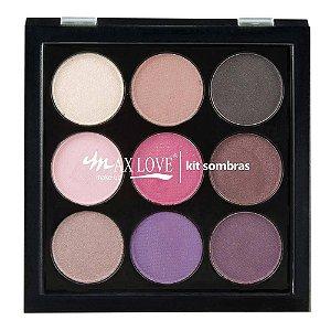 Max Love Kit Paleta de Sombras 03 12g
