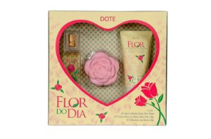 Dote Kit Flor do Dia Colonia 30mL + Creme p/ Maos+Sabonete