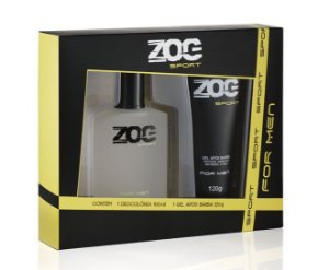 Kit Zog Colonia 100ml+Gel Pos Barba 120grs