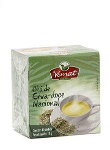 Vemat Chá de Erva Doce Nacional 10 saches