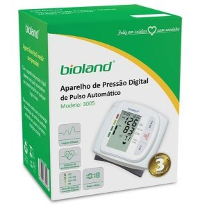 Bioland Aparelho de Pressão Digital de Pulso Mod: 3005