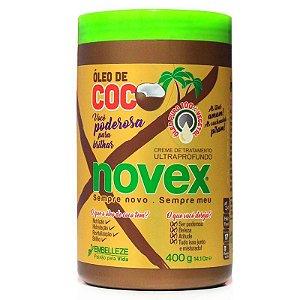 Novex Creme De Tratamento 400gr Óleo de Coco