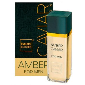 Perfume Amber Caviar For Men Paris Elysees 100ml