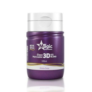 Magic Color Gloss Matizador 3d Efeito Cinza 100ml