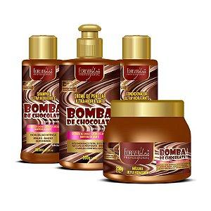 Kit Forever Liss Bomba de Chocolate Profissional