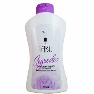 Talco Tabu Segredos 100gr