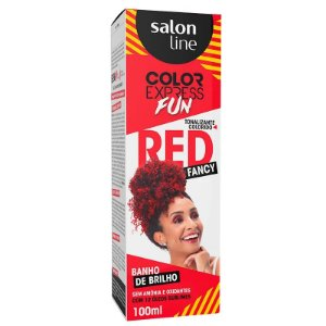 Tonalizante Salon Line Color Express Fancy Red 100g