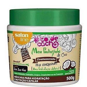 Mascara Salon Line To de Cachos Meu Pudinzinho 500grs