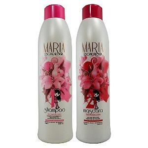 Maria Escandalosa Kit Progressiva Shampoo+Mascara 2x1 Litros