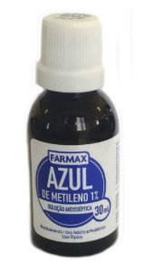 AZUL DE METILENO 30ml  FARMAX