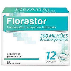 Florastor 200milhoes 12Caps (Uniao Quimica)
