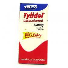 PARACETAMOL - TYLIDOL 750MG 20 CPR TEUTO