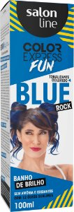Tonalizante Salon Line Color Express Blue Rock 100g