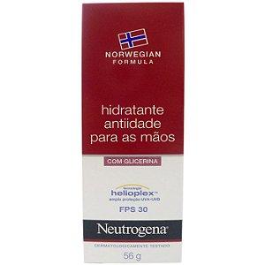 Neutrogena Hidratante Antiidade Para Mãos FPS 30 56gr
